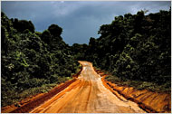 NY Times Audio Slide Show, Along the road from Lethem to Georgetown