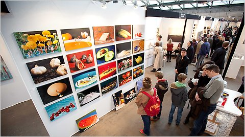 The Brussels edition of the Affordable Art Fair took place in February.