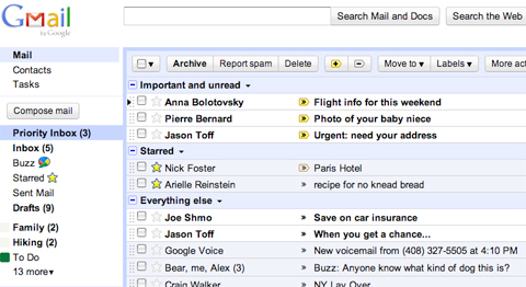 Priority Inbox