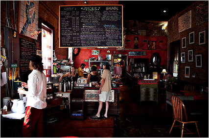 Satsuma Cafe is among the many business that have sprouted up in the Bywater neighborhood.