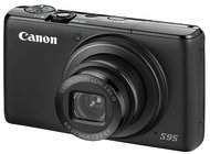 The Canon S95 has a sensor with 88 percent more area than most pocket cameras' sensors.