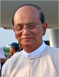 Thein Sein, Myanmar's new president