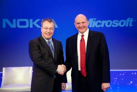 NOKIA, MSFT CEOS