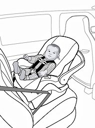 Rear-Facing Car Seats Advised at Least to Age of 2