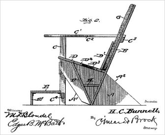 Image from original patent for Adirondack Chairs