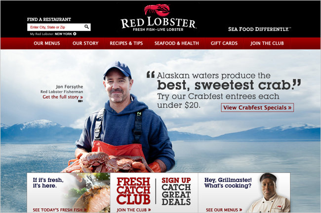 Red Lobster to Showcase Its Real People in New Campaign - NYTimes.com
