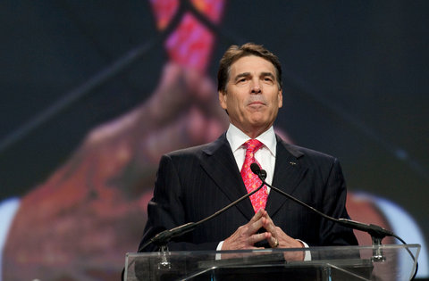 Gov.  Rick Perry of Texas, who hosted a prayer rally in Houston Saturday, is expected to make his intentions for the 2012 presidential campaign clear this weekend.