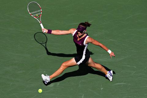 Samantha Stosur at the U.S. Open on Thursday.