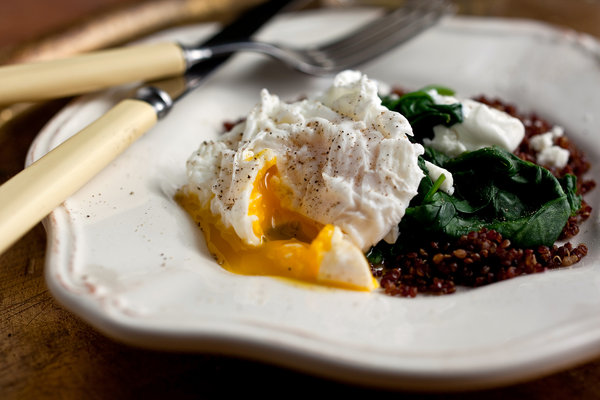egg white recipes for dinner for one poached eggs and