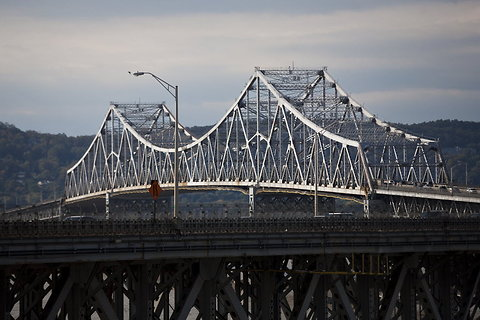 The Tappan Zee Bridge, which bears far more traffic than it was designed for and is due to be replaced.
