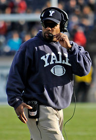 Yale Coach Tom Williams during a game on Nov. 19.