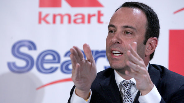 Edward Lampert controls just under 60 percent of the shares of Sears Holdings.