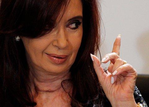 President Cristina Fernández de Kirchner of Argentina.