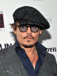 Johnny Deep was nominated for an icon award.