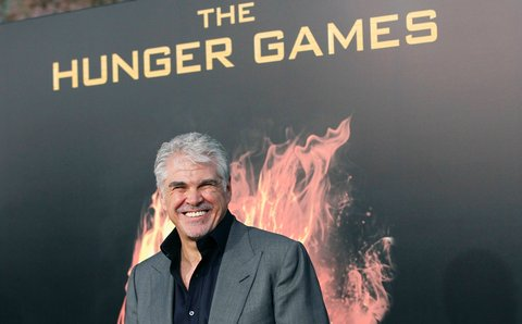"Gary Ross at the premiere of ""The Hunger Games"" in Los Angeles."