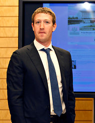 Mark Zuckerberg, the chief executive of Facebook