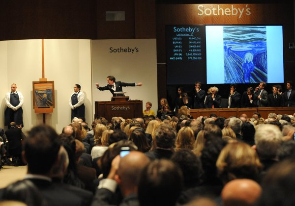 Scream Sells 120 Million Sotheby