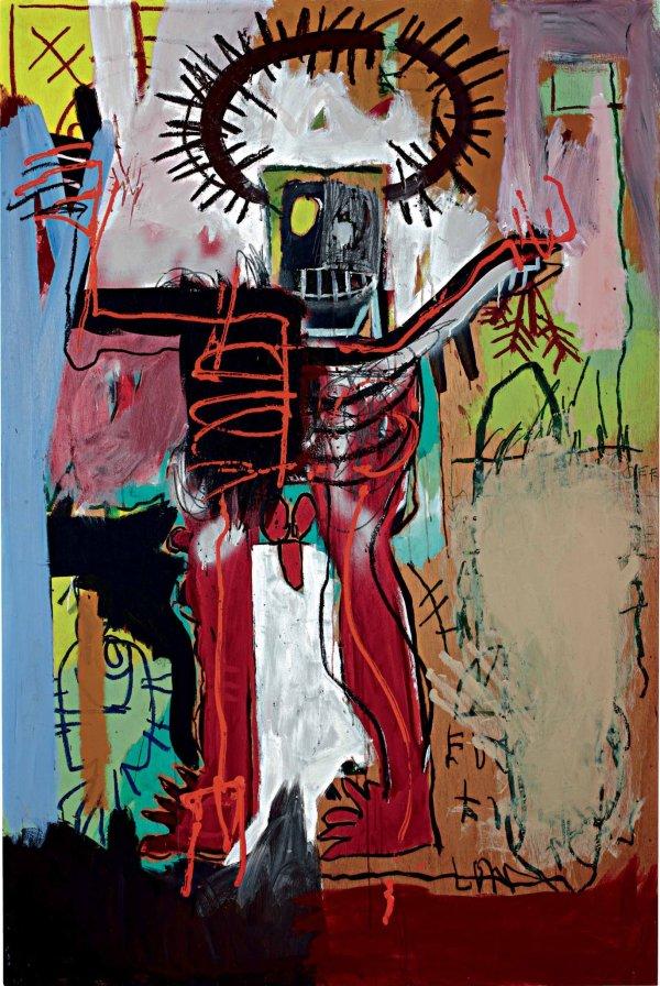 Basquiat Painting Brings 16.3 Million Phillips
