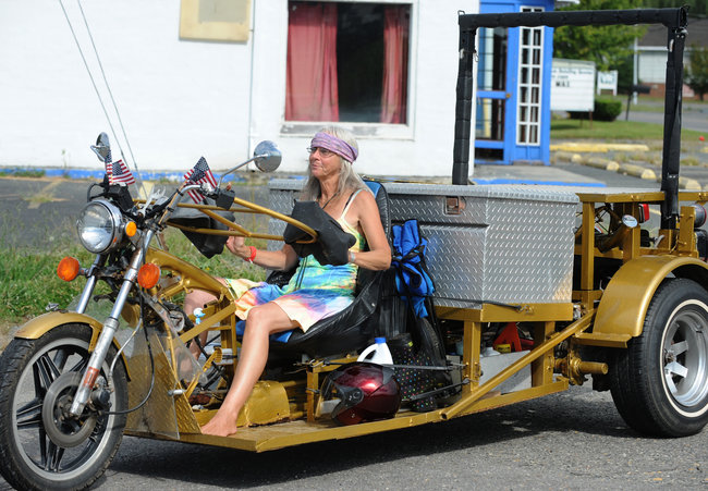 Born To Be Wild Aging Bikers Settle For Comfy High