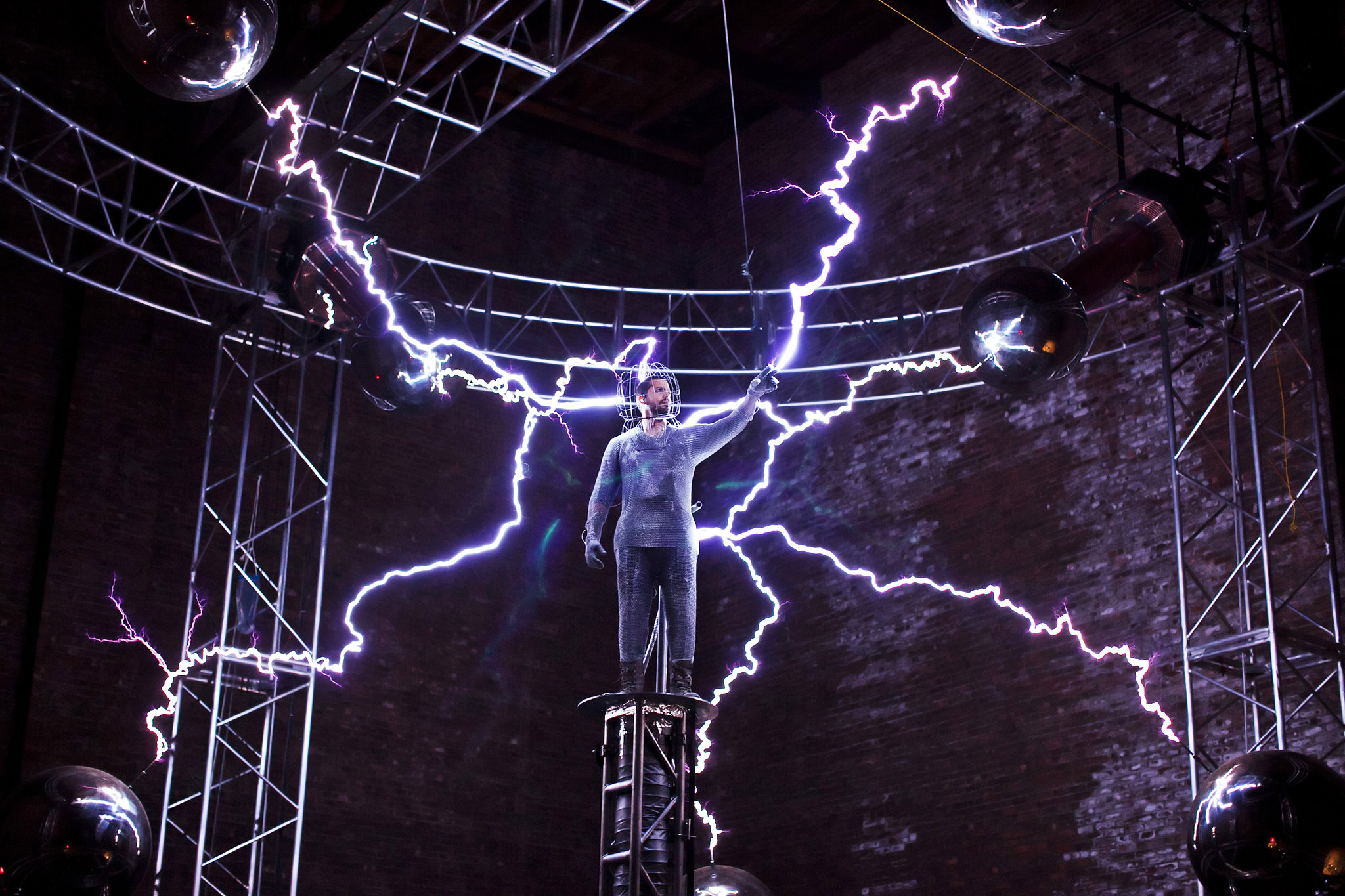 Man Today Electrocuted