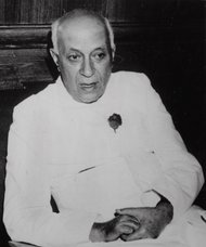 Former Prime Minister Jawaharlal Nehru, in this 1962 file photo.