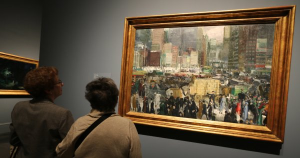 George Bellows Metropolitan Museum Of Art