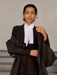 Lawyer Karuna Nundy.