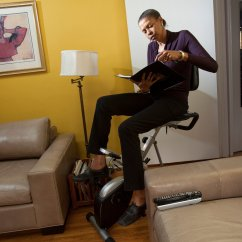 Chair Helps You Stand Up Ez Hanging Chairs Desks Gaining Favor In The Workplace New