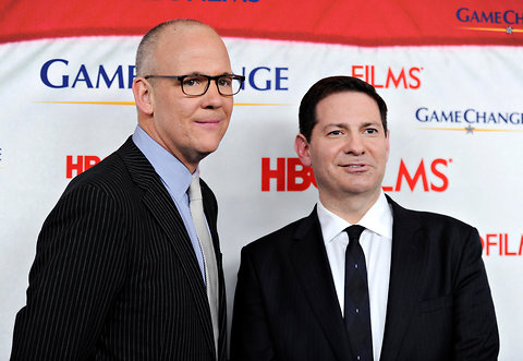 "Penguin will publish the sequel to the bestseller ""Game Chang"" written by John Heilemann, left, and Mark Halperin"