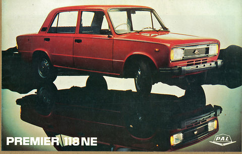 The Premier 118NE launched in 1985.