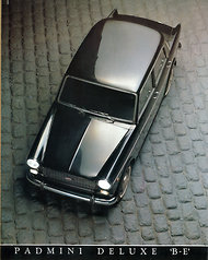 A Padmini Deluxe 'B-E' model from the late 1980s.