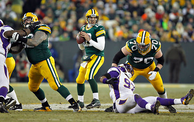 Aaron Rodgers completed passes to 10 receivers. The Packers will play the 49ers next weekend.