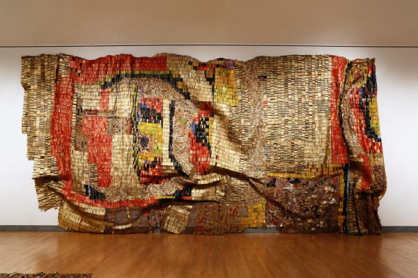 Million Pieces Of Home El Anatsui Brooklyn Museum - York Times