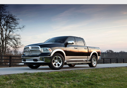 2013 Ram 1500. The 2014 version will be offered with a diesel engine.