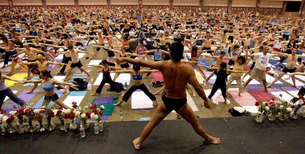 Bikram Yoga Founder Sued Student