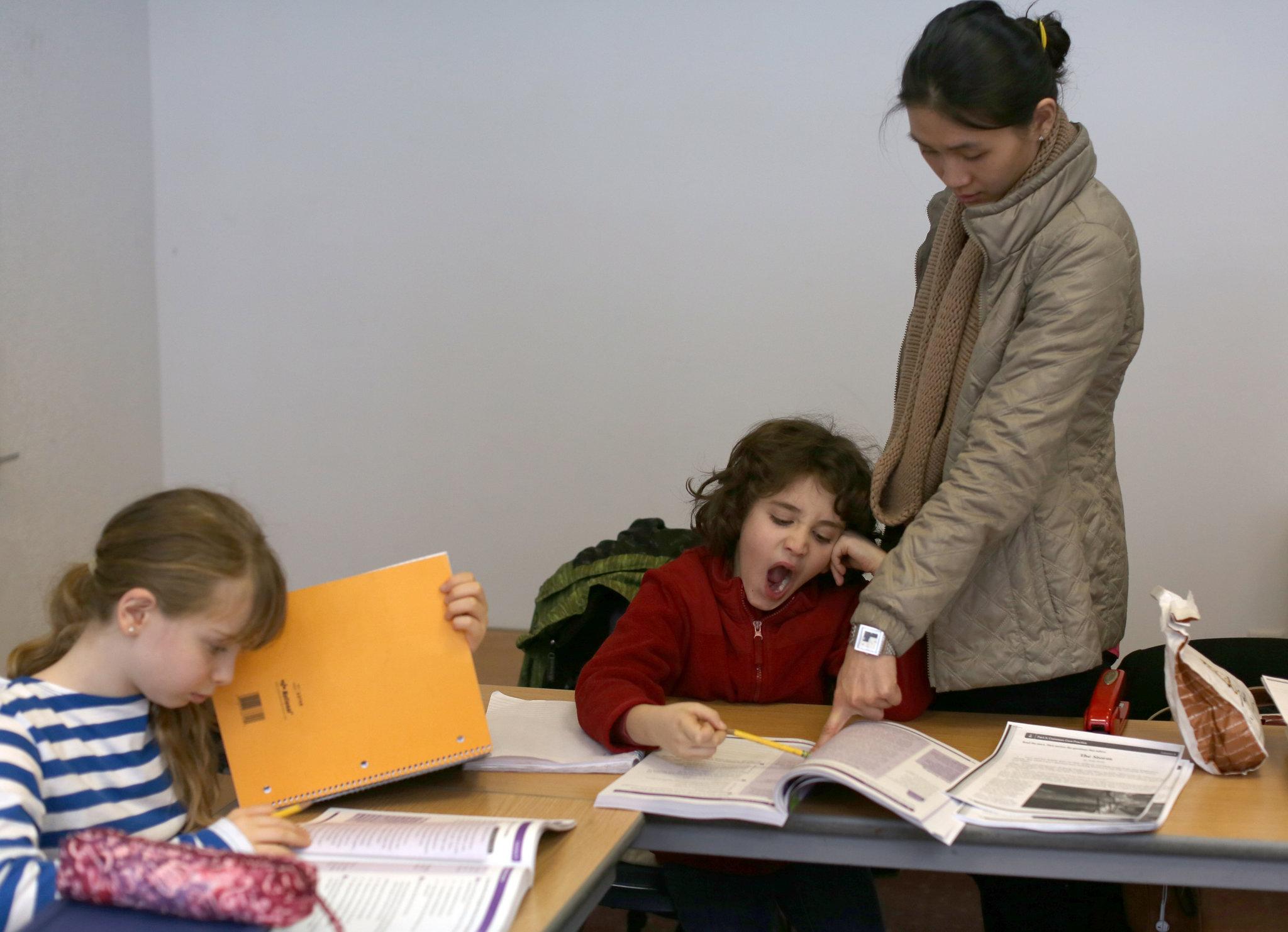 Cram Schools No Longer Just An Asian Pursuit