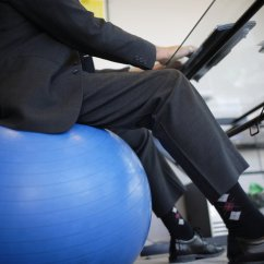 Desk Chair Or Exercise Ball Ikea Adelaide Covers Ask Well Do Chairs Offer Benefits The New York Times