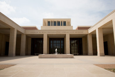 The exterior of the brick-and-limestone museum, which will be dedicated on Thursday.