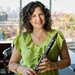 The jazz clarinetist Anat Cohen.