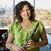 The jazz clarinetist Anat Cohen.