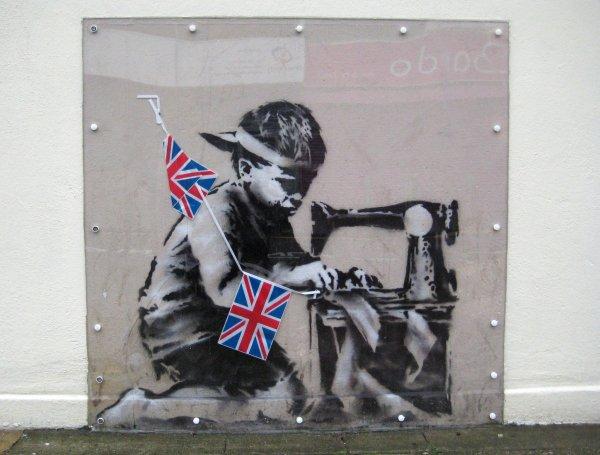 Disputed Banksy Work Brings 1.1 Million Auction
