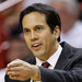 Miami's Erik Spoelstra, in his fifth season, ranks third in the league in coaching longevity.