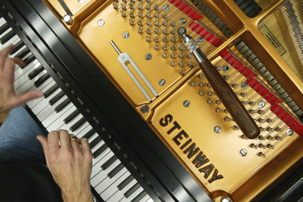 steinway piano sold