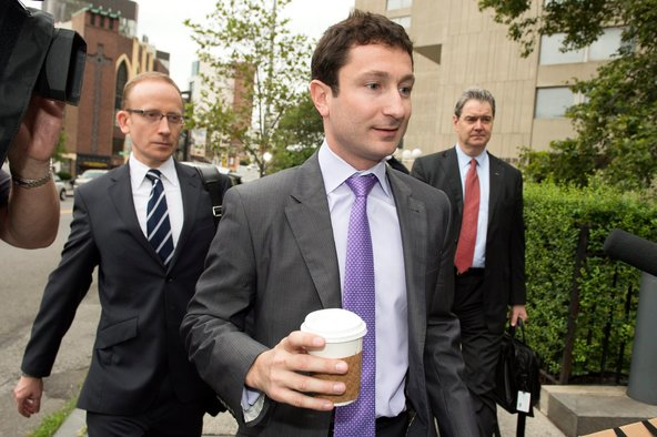 Fabrice Tourre, a former Goldman Sachs trader, outside federal court in New York on Friday.
