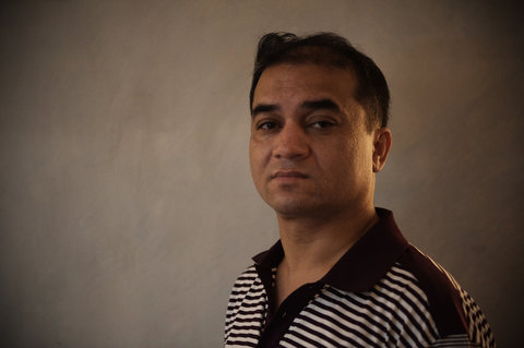 Ilham Tohti, an economics professor at Central University for Nationalities and the founder of the website Uyghur Online.