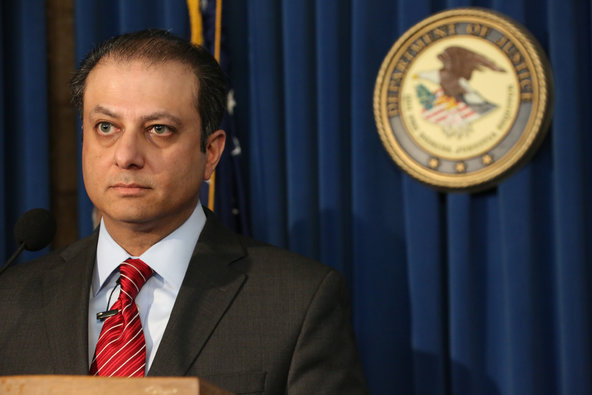 """Martoma bought the answer sheet before the exam,"" said Preet Bharara, the United States attorney in Manhattan."