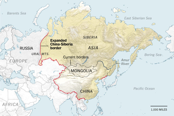 Sino-Siberia Map