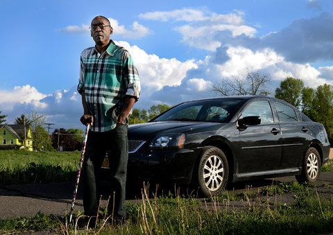 Rodney Durham, 60, of Binghamton, N.Y., had his car repossessed.