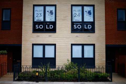 Homes in a south London development. The Bank of England took steps in June to tighten lending standards because of concerns of a housing bubble.