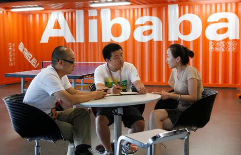 Alibaba is scheduled to become a publicly traded company later this week.